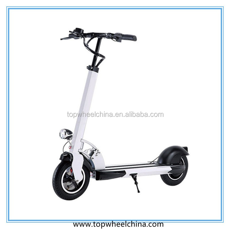 aluminum frame 500W 10inch adult kick scooter brushless electric bike controllers with app bluetooth