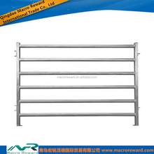 Hot Dipped Galvanized Cattle Yard Steel Panels For Cattle Fence System