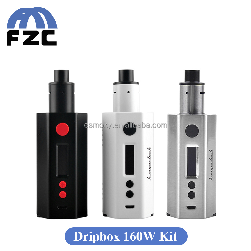 New products 2016 Huge Vapor Kanger Electronic Cigarette 160w output 7ml e-liquid Capacity Kangertech Dripbox 160w