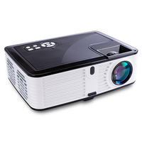 2019 Newest 6.7inch LCD LED Native 1080P projector, Real Full HD Projector 4000 Lumens for Home Theater
