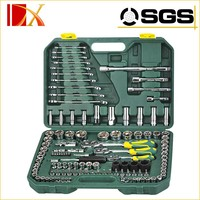 "120 PCS 1/4"" & 3/8"" & 1/2"" DR. Socket Wrench Set"