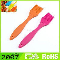 Fast Production Embroidery Design Customize Foldable Silicone Pastry Brush Set