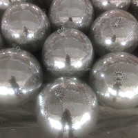 factory small order price laser christmas decoration ball lights indoor star shower reflective fiberglass ball light