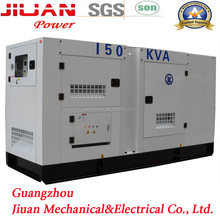 150kva guangzhou stock power electric diesel generator set genset silent genset for reefer container