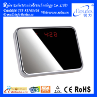 2015 Newest product clock camera toilet hidden mini camera with long time recording