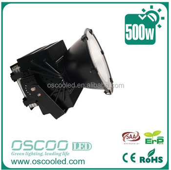 500w LED flood light led gas station light 500W IP65 led football field lighting