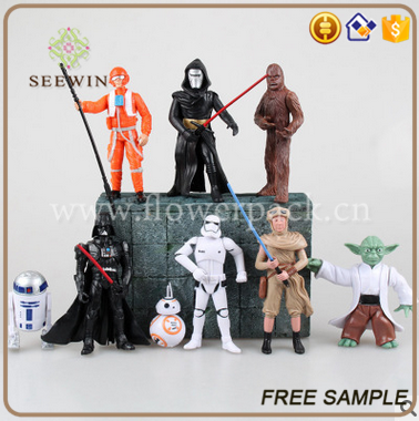 hot realistic anime star cartoon wars action figures