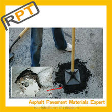 Permanent asphalt pothole repairs under all weather conditions