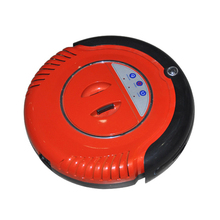 Red Color Auto Charge Robot Vacuum Cleaner