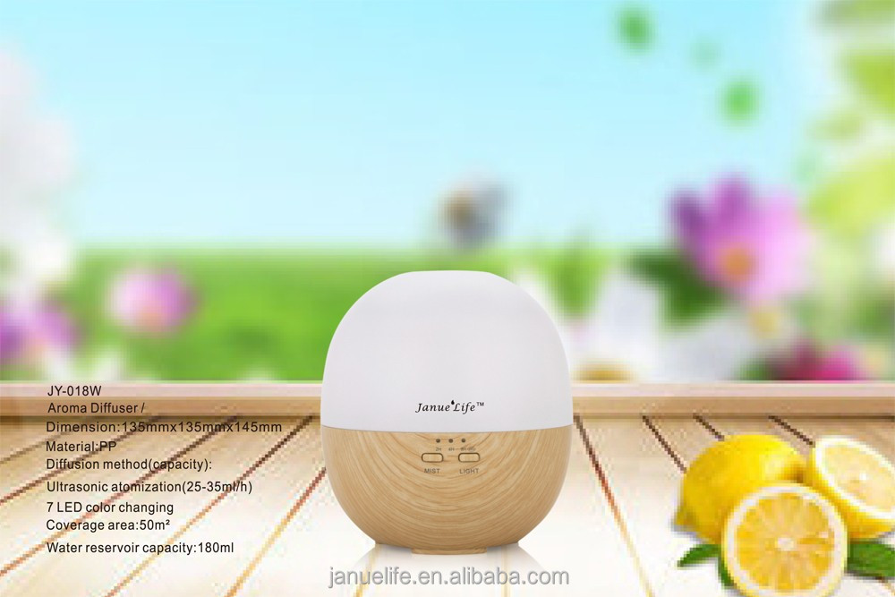 Electrical Ultronic Mist 150ml Wood Grain Aromatherapy Ultrasonic Essential Oil Aroma Diffuser