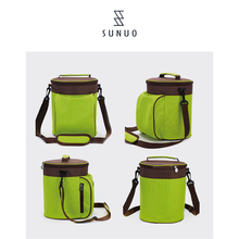 Wholesale Reusable Waterproof Oxford Polyester 6 Pack Can Cooler Bag