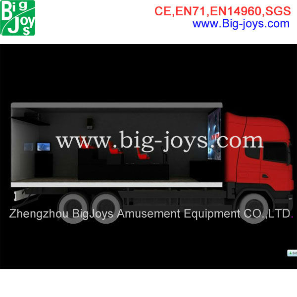 China suppliers professional truck mobile 5d cinema