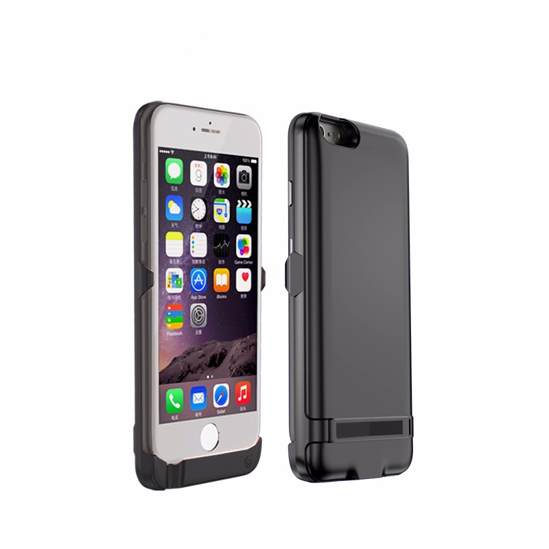 Mobile Phone Cover 5800mAh Backup Power Bank External Battery Charger Case with flip For iPhone6 Plus