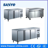 Single-temperature Style and Display Cooler Type refrigerated salad bar