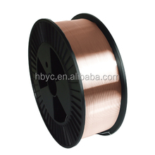 Vessel,Construction Machinery,Pressure Vessel Application and Red Copper Wire Type ER70S-6 steel welding wire