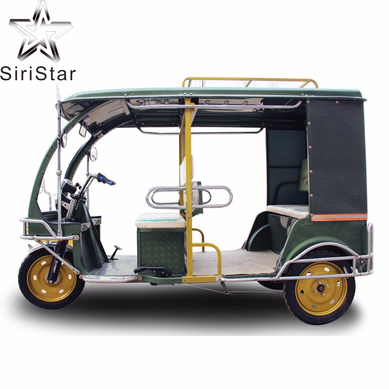 1000W cheaper bajaj three wheeler price and electric tricycle rickshaw for sale