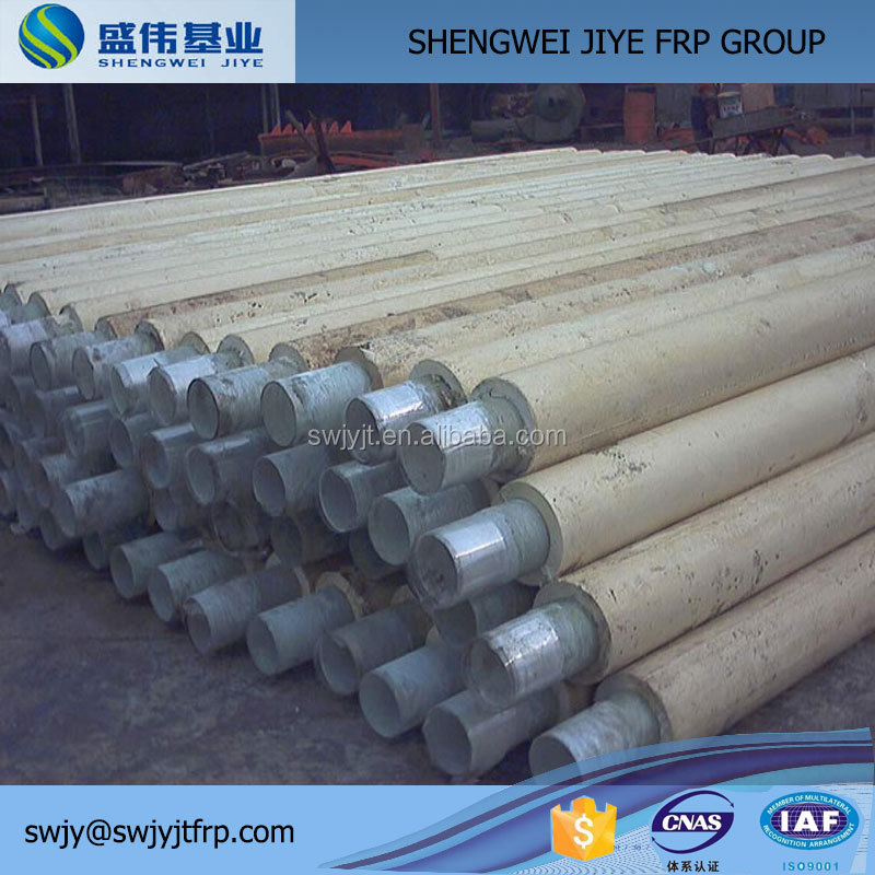 frp grp gre rtr pipe, high pressure filament winding underground pultruded frp pipe