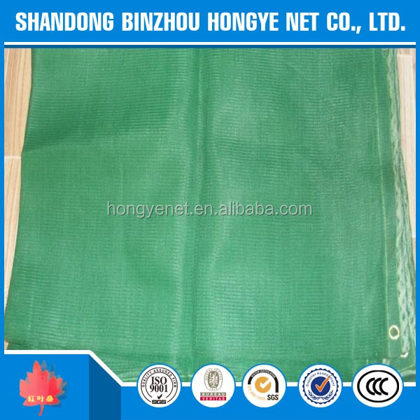 new pp Green Scaffolding HDPE Knitted Construction Safety Net