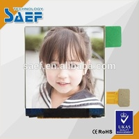 high brightness 500 cd/m2 IPS 1.54 inch tft lcd MCU8/9Bit lcd screen panel with White LED