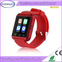 U8 smart watch/2015 New Arriving Bluetooth U8 Smart watch for Andriod