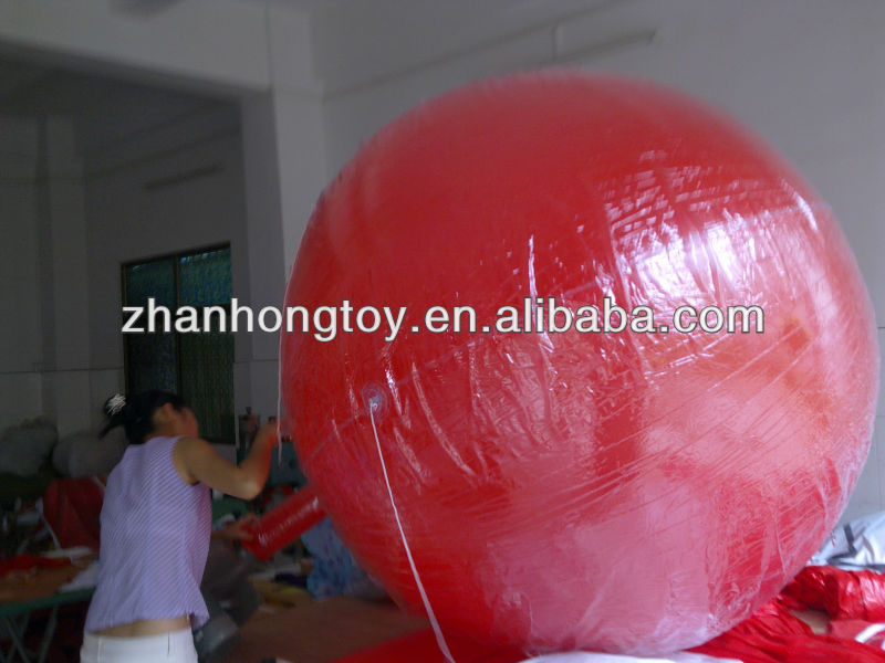 2013 hot sale inflatable ground balloon