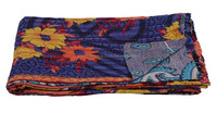 Great Deals @ Vintage Kantha Quilts Throw or Gudari