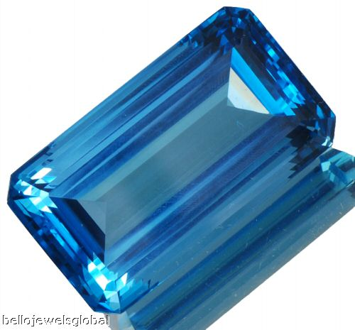 Natural London Blue Topaz- Gemstones