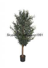 1.5m,2m artificial olive trees