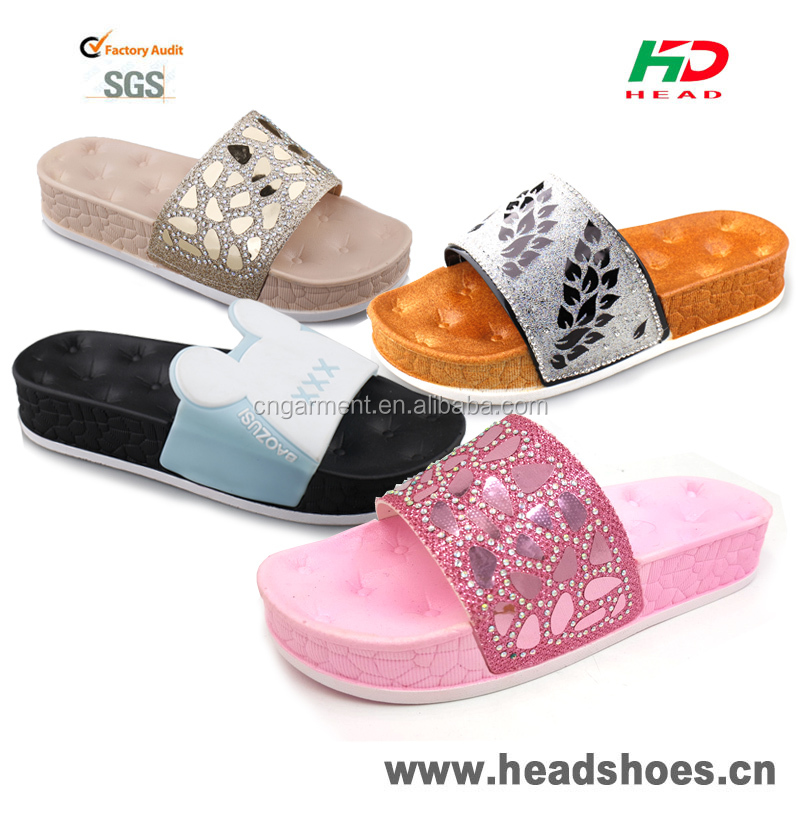 2017 pcu ladies slippers good design sandals shoes women china wholesale sandals latest high heel ladies shoes