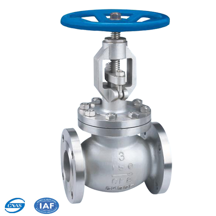 astm a216 wcb cast/forged steel rising stem globe valve drawing