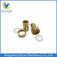 Brass plumbing accessories, brass gas meter connector fittings