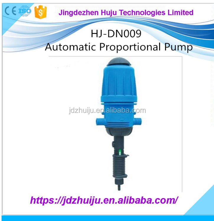 Automatic Water Drive Chemical Dosing Pump for Livestock Breeding HJ-DN009
