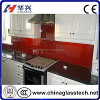 CE, ISO, CCC Shandong factory tempered splashback glass paint