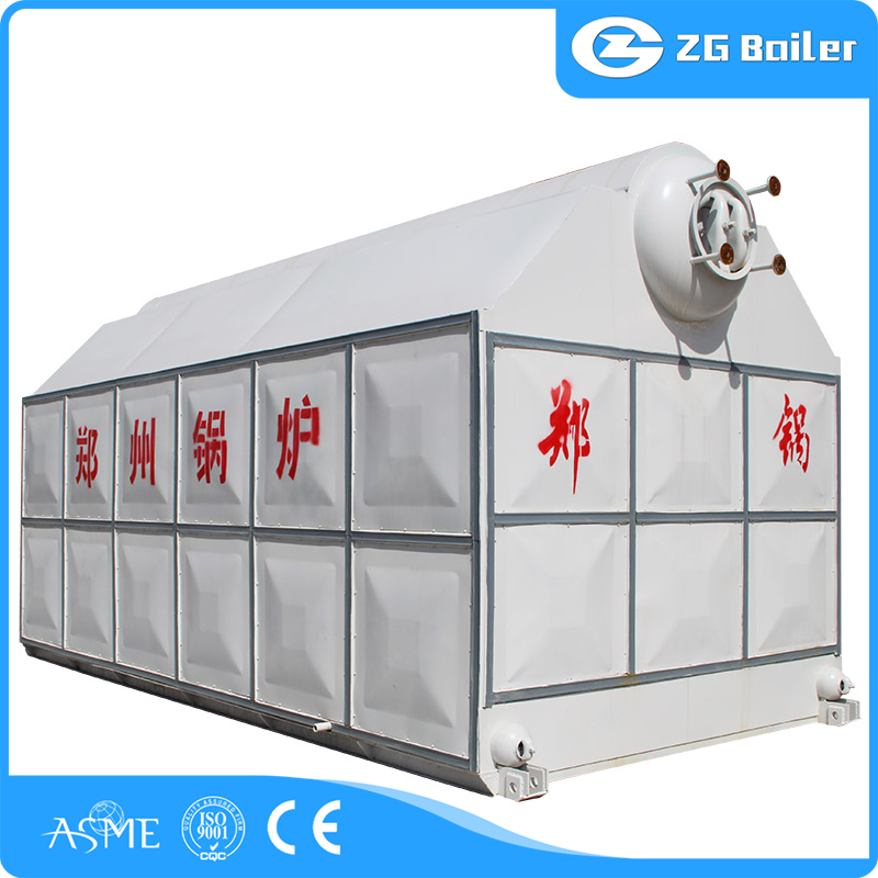 fire and water tube solid fuel boiler
