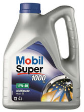 Mobil Super 1000 X1 15W-40, 4 Litre - Premium Mineral Engine Oil