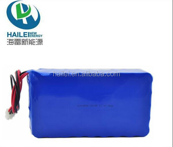 BIS certified cell Customized size 18650-3S15P 30Ah 300W rechargeable 12V lithium ion battery pack