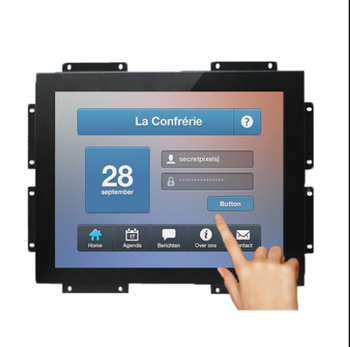 21.5 inch open frame monitor voor levering lockers ingebed touchscreen met OS