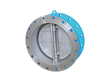 2014 Top sales Material WCB 4 inch Butterfly type wafer Check Valve