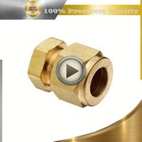 cnc machining brass motor shaft sleeve