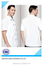 Herren whosale China fabrik chefuniform