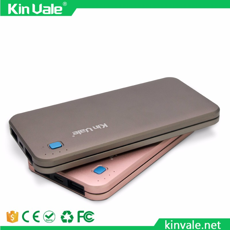 Kinvale Factory Price Portable 3500mAh Ultra-thin Card Power Bank Gift Promotion