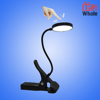 Chepaer bright flexible reading light USB rechargeable LED book light with clip