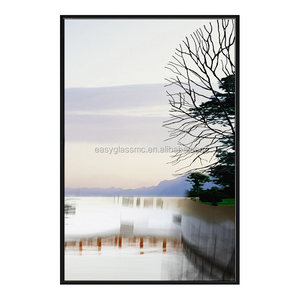 PS frame canvas painting welcome photo print on canvas
