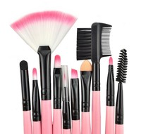 Brushes Makeup 24pcs set 3color Brushes set tools portable full Cosmetic brush tool kit makeup accessories