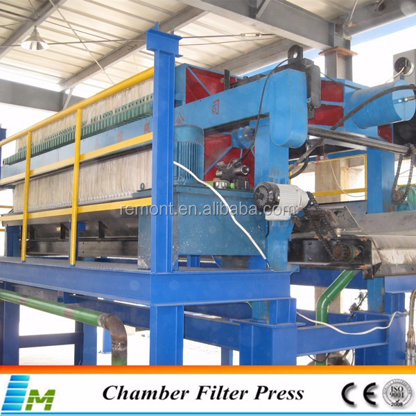 Filter press type solid liquid separation equipment for sale