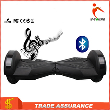 Personal transport vehicle Two Wheels Self Balancing Scooter Smart Electric Drifting Board with LED Light