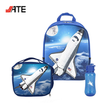 3D EVA Backpack LunchBox Kids School Bag Set