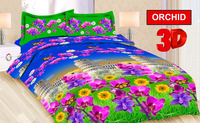 Micro fiber fabric in solid color and print for bedsheet