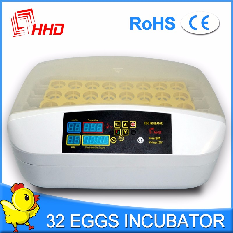 98% hatching rate HHD YZ-32 the incubators with CE approved
