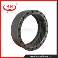Construction Machinery Forging Spare Parts Reduction Gear / Ring Gear For Final Drive Assembly